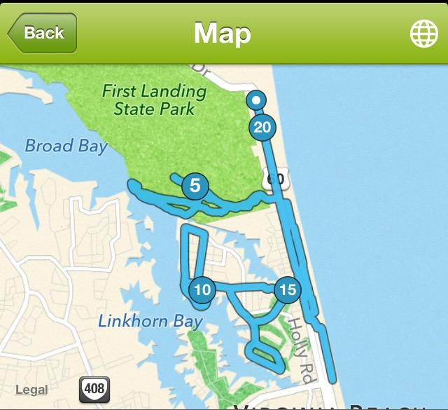I still can't believe I ran 20 miles