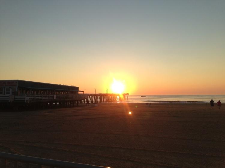 Gorgeous Morning for a Beach Run