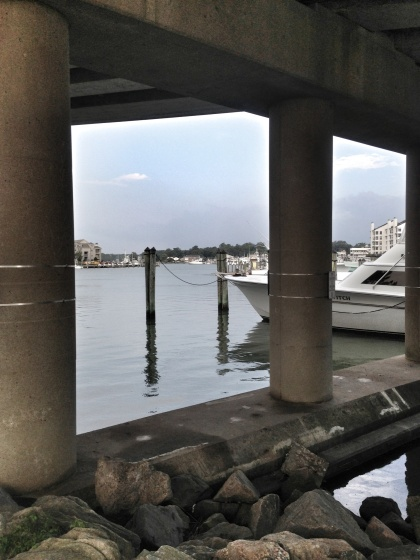 Final stretch home: a new path under the Rudee Inlet Bridge