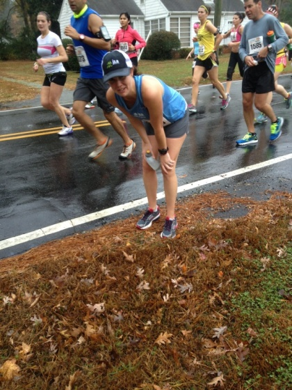 What husbands are good for....great race photos!