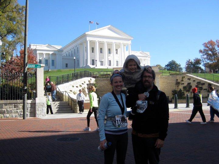 2nd half marathon, Nov 2010, Richmond