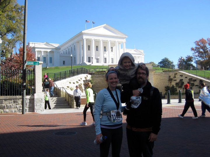 2nd half marathon, Nov 2010, Richmond