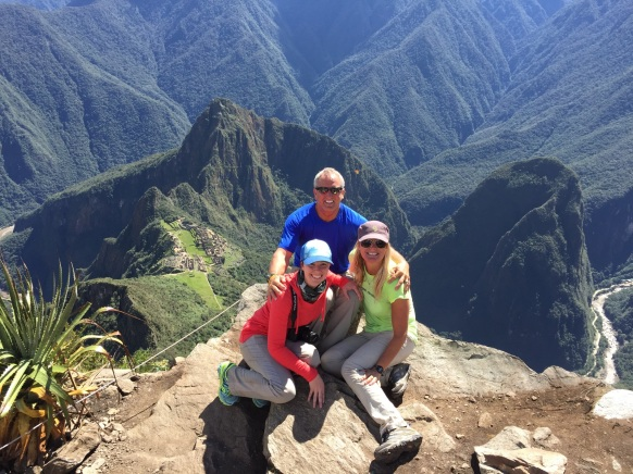 On top of Machu Picchu Mountain